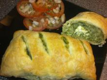 Butterdejspakker m/ kylling & spinat