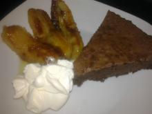 Banana bread on a plate