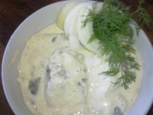 Frokost: Karry-sild + æg & rejer