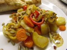 Lækkert tilbehør med kartoffel-rester