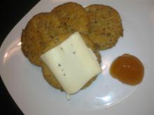 Buttede grove knækbrød (let at lave)