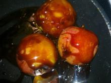 Karamel-æbler med kokos