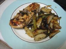 Kylling med grønsager