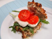 Vegetarsandwich med pesto og hummus