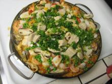 Paella med alt godt fra havet
