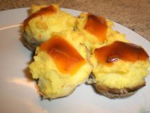 Restemad: Champignon m. kartoffelmos