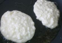 Ris-klatkager m/æble
