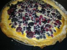 Skovbærtærte m/ surmælks-mørdej