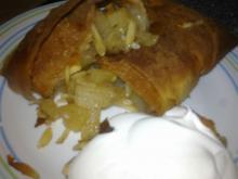 Sprød æble-stang i filodej (let at lave)