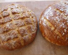 Sundt brød med kerner og gulerødder