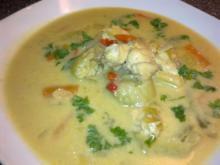 Hurtig thaisuppe m/ kylling