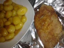 Andebryst m/ brune kartofler