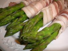 Aspargesruller m. bacon