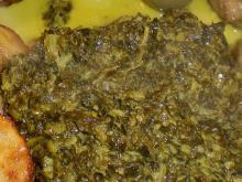 Hamburgerryg m. grønlangkål