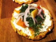 Gluten-fri blomkålspizza