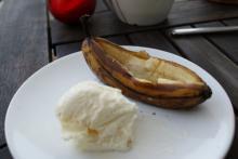 Grillede bananer med Cointreau
