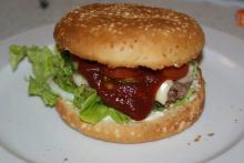 Hjemmelavet burger