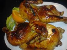 Honning-glaseret kylling