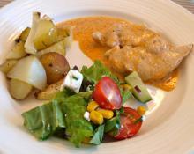 Nemt og lækkert – kyllingestykker med smag