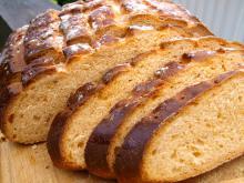 Lækkert brød med rød pesto