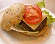 Sunde burgerboller eller frokostboller