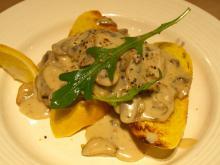 Hurtig og lækker forret med svampe