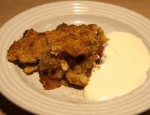 Kanel – og marcipan æblekage