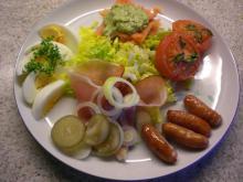 Platte m. grillede tomater