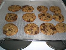 Småkager m. nødder og chokolade