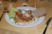Spaghetti og kødsovs (Spaghettiret)