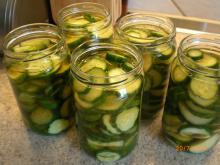 Syrlige syltede agurker