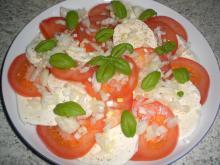 Tomatsalat m. mozzarella