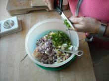 Tunsalat med æg