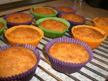Banan muffins m. makroner