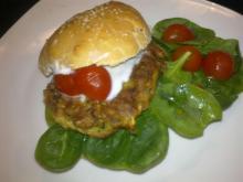 Krydret vegetarburger