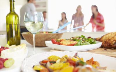 Fravælg stress med den rigtige menu når du skal have gæster