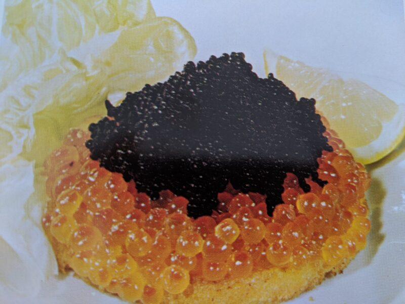 Løjrogn og kaviar